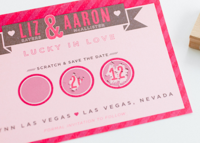 Liz + Aaron Save the Date 1