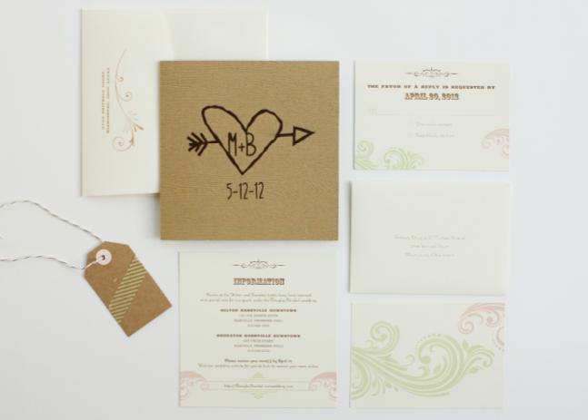 Brittany + Mike Invite