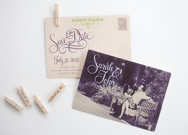 Sarah + John Save the Date