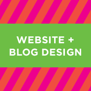 Website + Blog Design—for an online presence that rocks!