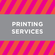 Printing Services—business cards, stickers, labels, letterhead, envelopes, notepads...the list goes on!