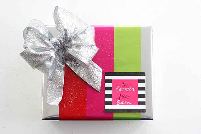 Cormier Creative free gift tag printable!